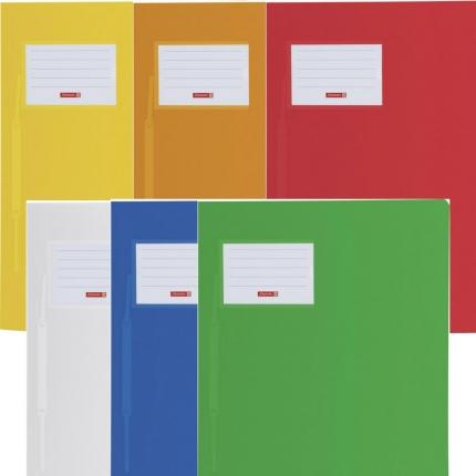 Schnellhefter FACT!pp Brunnen, 6er Set: weiß und gelb, orange, rot, blau, grün