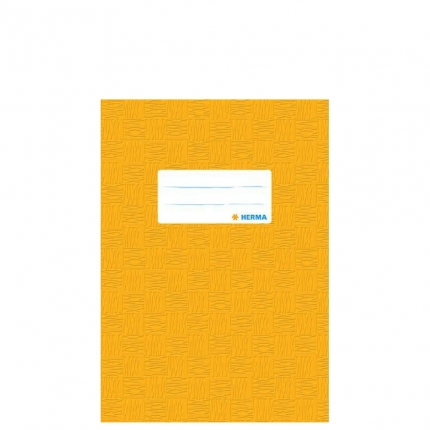 Heftschoner A5, gelb gedeckt, Herma
