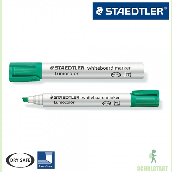 whiteboard marker lumocolor von staedtler gr n. Black Bedroom Furniture Sets. Home Design Ideas