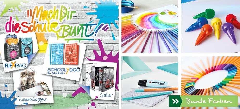 Bring' Farbe in die Schule!