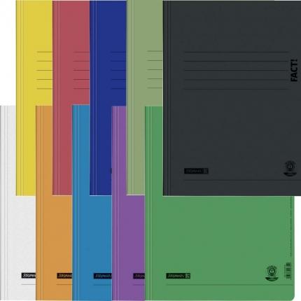 Umweltschutz Schnellhefter Brunnen im Set mit 10 Farben