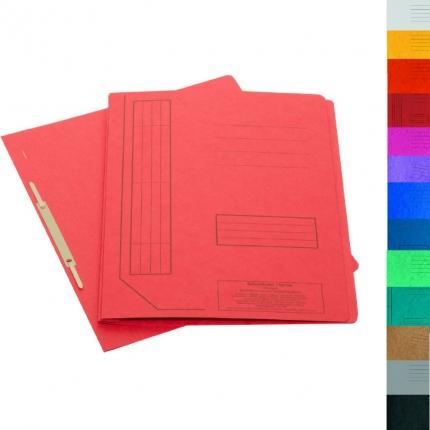 Kunststoff 4 Farben Gummizugmappe General Office Mappe: 4er-Set Eckspanner-Einschlagmappen mit Gummizug
