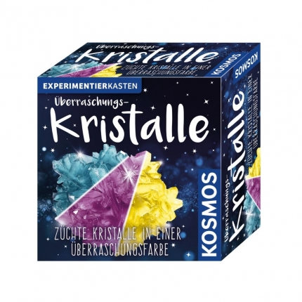 Kristalle züchten, Kosmos, Überraschungskristalle