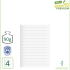 Premiumheft Recycling A5, green90, Lineatur 4
