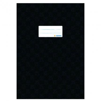 Heftschoner A4, schwarz gedeckt, Herma