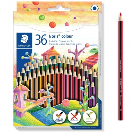 Staedtler Wopex Noris colour, 36 Buntstifte