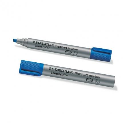 Flipchart Marker, Staedtler Lumocolor blau