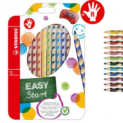 Stabilo EASYcolors für Rechtshänder, 12er Pack