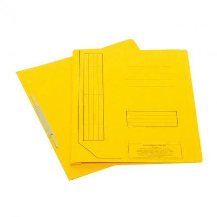 Falken Schnellhefter aus Karton, gelb
