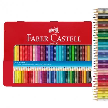 Faber-Castell Colour Grip 36 Farben im Metalletui