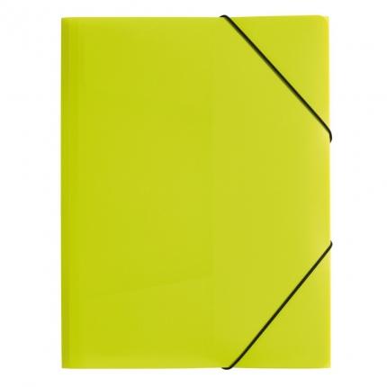 Sammelmappe Kunststoff A3, lindgrün, Pagna