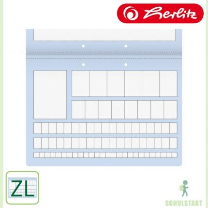 Zahlenlernheft ZL von Herlitz, A4 Querformat