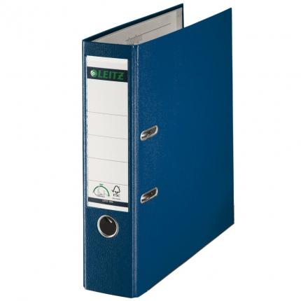 Leitz Ordner PP blau, breit, 8 cm