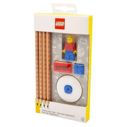 LEGO Bleistifte Schreibset mit Minifigur