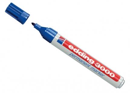 edding 3000, Permanent Marker blau