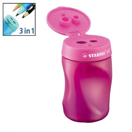 Stabilo easy Dosenspitzer für Linkshänder, doppelt, pink