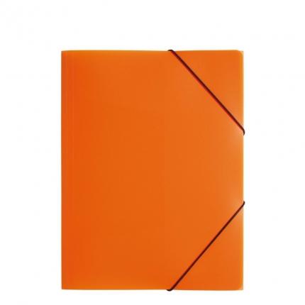 Jurismappe Plastik A4, orange, Pagna