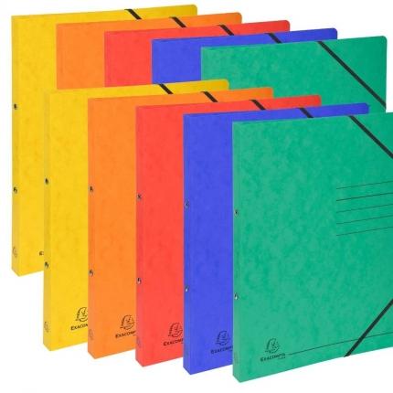 Ringhefter Exacompta, 2 x 5 Farben